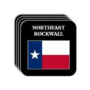 US State Flag   NORTHEAST ROCKWALL, Texas (TX) Set of 4 Mini Mousepad