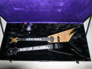 Jason Krause of Kid Rock Custom Built BC Rich Double Neck Guitar One