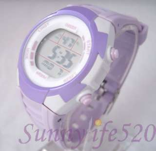Mutifunction Water Proof Lady Women Digital Wrist Watch