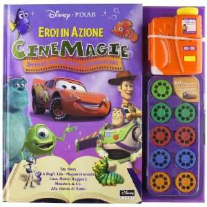 Eroi in azione Toy Story A Bugs Life. Megaminimondo Cars
