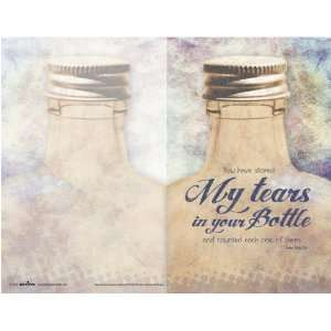 Church Bulletin   Tears in a Bottle   100 pack: Office