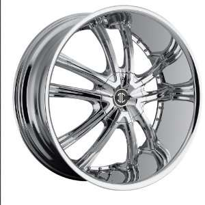 2crave No.21 Wheels 24x10 Chevy GMC Yukon Cadillac Chrome