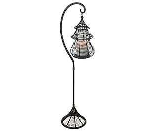 Home Reflections Indoor Outdoor 38 Wire Weave Flameless Candle