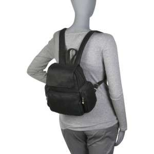 LE DONNE LEATHER MULTI POCKET DISTRESSED LEATHER BACKPACK 699884005975