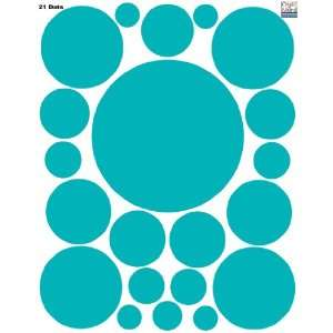 Dot Decals  (21) Peel & Stick Removable Wall Stickers