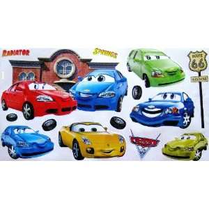 Cars Disney Movie Self Stick Wall Stickers