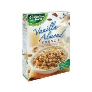 Cascadian Farm Vanilla Almond Crunch, 12.5 Ounce (Pack of 10)