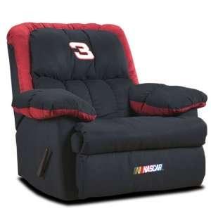 Dale Earnhardt #3 NASCAR Logo Home Team Recliner Sports