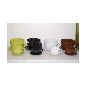 Cute Tea cup Shaped Flower Pots 2 pc (One Color per