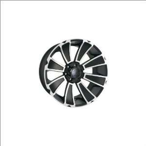 Ion Alloy 180 Matte Black 18x9 Matte Black   12 offset