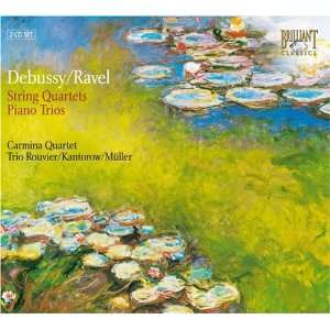 Debussy/Ravel String Quartet/Piano Trio Debussy, Ravel