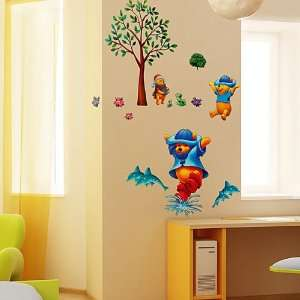 Winnie The Pooh 8   Large Wall Decals Stickers Appliques