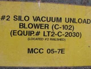 60 HP ROOTS DRESSER 717 ROTARY LOBE VACUUM BLOWER PKG