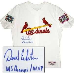 David Eckstein St. Louis Cardinals Autographed Authentic