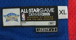 Allen Iverson 76ers East All Star Autographed/Signed Jersey XL PSA/DNA