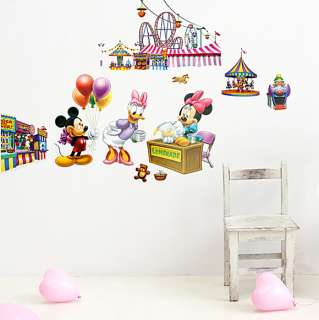 Mickey & Minnie 5   Large Wall Stickers Home Decor