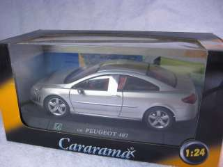 Peugeot 407 Cararama Diecast Car Model 124 1/24