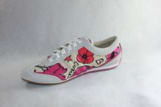 AUTHENTIC COACH DILLON PPY PTL PR LT WOMENS PINK / WHITE SHOE