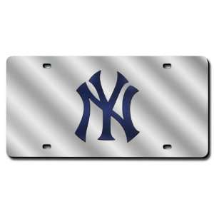 New York Yankees License Plate Laser Tag Sports