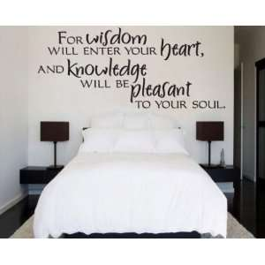 soul Scriptural Christian Vinyl Wall Decal Mural Quotes Words