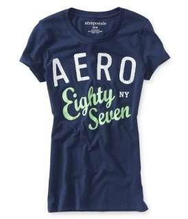 aeropostale womens aero eighty seven graphic t