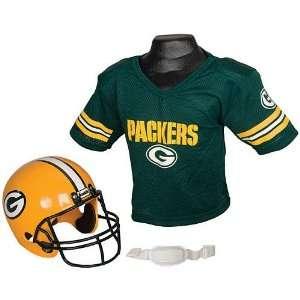 Franklin Sports NFL Packers Helmet/Jersey Set  Sports
