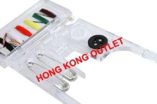 Hello Kitty Sewing Thread Needle Button Travel Kit Set Sanrio S78