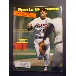 Gaylord Perry San Francisco Giants Autographed September