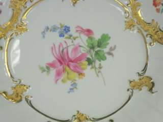 Hand Painted Missen Floral Cabinet Plate Dates From 1815 1924