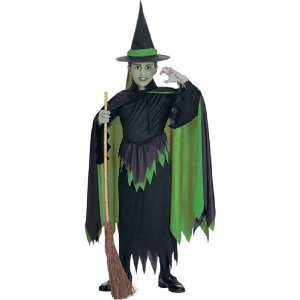 R18581 8 10 Wicked Witch Child Costume Toys & Games