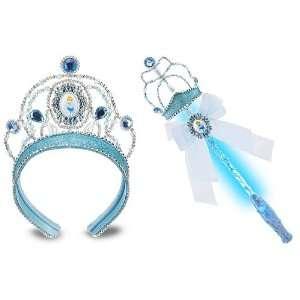 Princess Cinderella Wand Tiara Set with