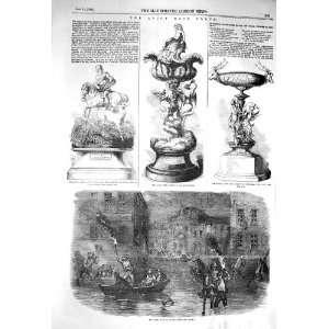 1856 INUNDATION LYONS ASCOT CUP ROYAL HUNT GOLD VASE