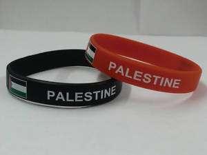 Palestine Bracelet / Wrist Bands / Palestine Flag