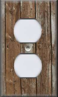 Plate Cover   Wall Decor   Rustic   Image Brown Wood Planks