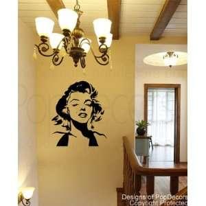 Monroe   27 inch H  Wall Art Stickers Home Decor
