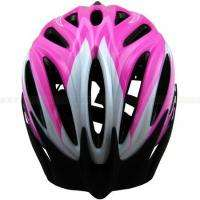 Pink Cycling Bike Adult Bicycle Helmet with Rear Light