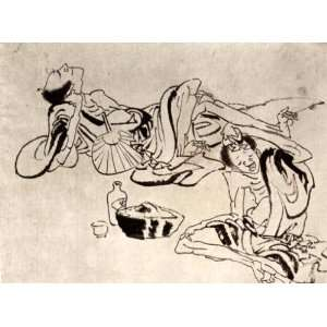 Gloss Stickers Japanese Art Katsushika Hokusai No 126