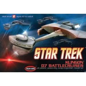 POLAR LIGHTS   1/1000 Star Trek Klingon D7 Battle Cruiser
