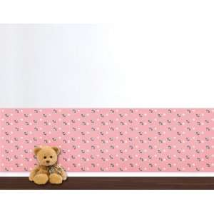 Paul Frank Julius Pink Hearts Wallpaper Wall Decal Decor