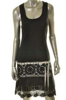 FAMOUS CATALOG Moda Black Casual Dress BHFO Sale S |