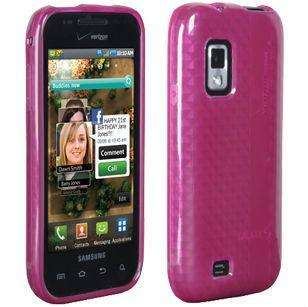 OEM VERIZON SAMSUNG FASCINATE SILICONE COVER CASE PINK