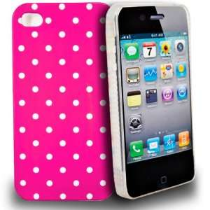 Mobile Palace   pink with white dot design hard case cover