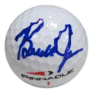 Brandt Jobe Autographed / Signed Golf Ball Everything