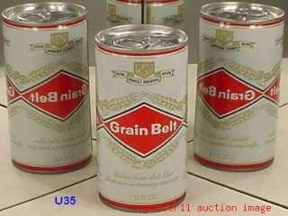 GRAIN BELT C/S BEER CAN G HEILMAN WIS KY MINN my #U35