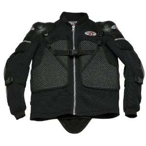 Joe Rocket Riot Mens Motorcycle Jacket Black Small