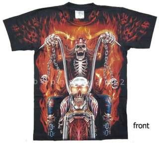 TIGER T Shirt HORSE T shirt WOLF, EAGLE T Shirt GRIM REAPER T Shirt