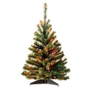 4 Kincaid Spruce Tree; 100 Multi Lights UL