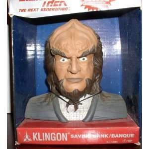 STAR TREK KLINGON SAVING BANK: Toys & Games