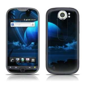 Tropical Moon Design Protective Skin Decal Sticker for HTC
