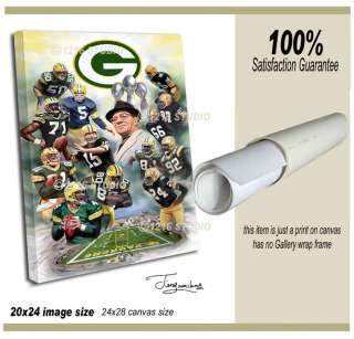Greenbay Packers  giclee print on canvas N 316 2